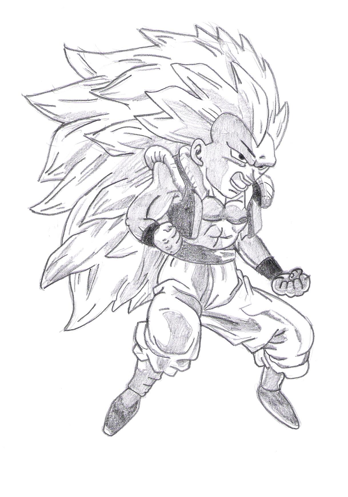 Dessin De Manga Dragon Ball Z Dessin De Manga